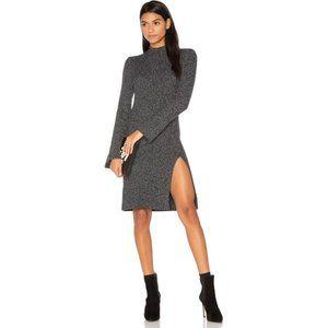 BCBGMaxazaria Marled Gray Sweater Dress